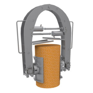 barrel clamp automated cheese handling, cheese manufacturing equipment