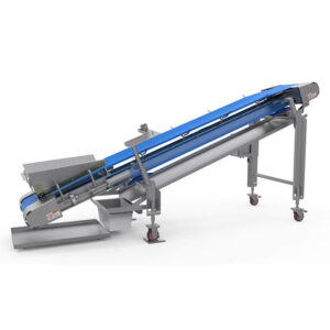 collection conveyor used in cheese manufacturing