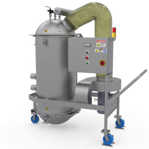 sanitary dust collection
