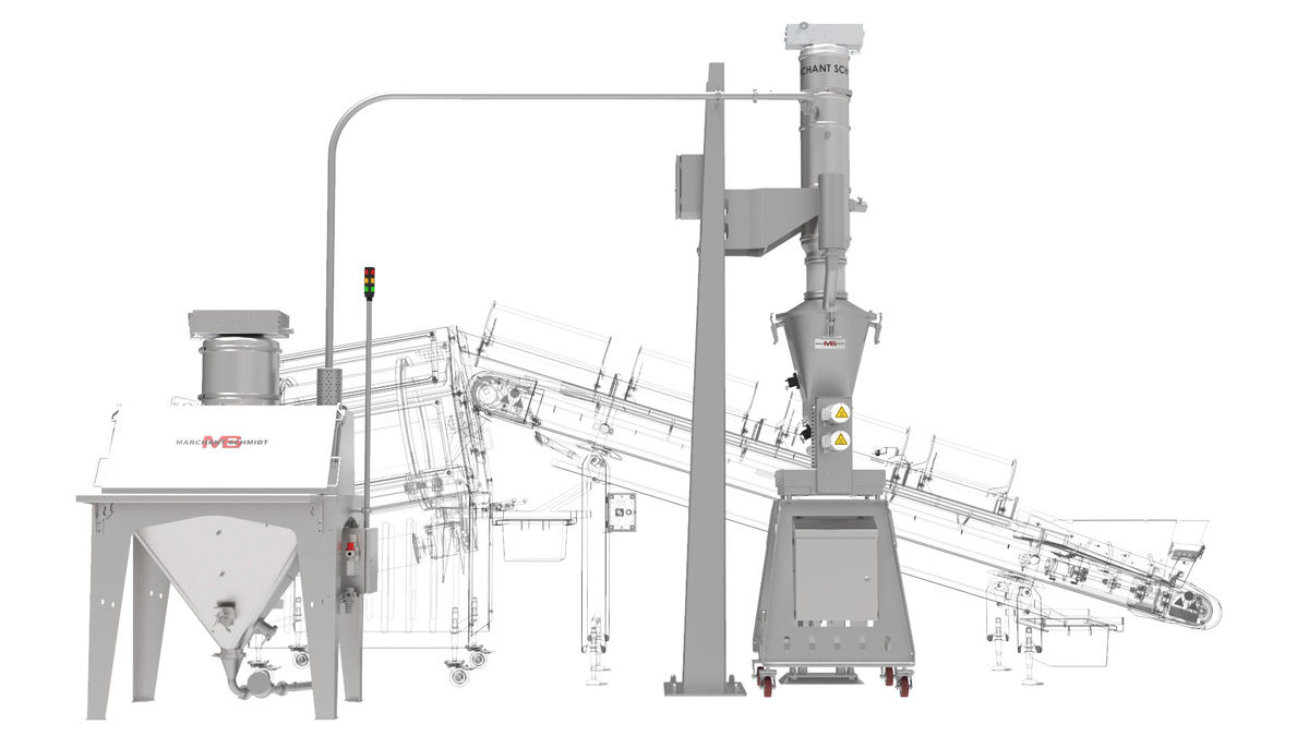 REMOTE POWDER DELIVERY SYSTEM MAIN
