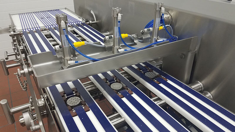 cheese slice line automation
