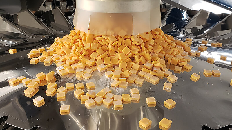snack cheese cutting