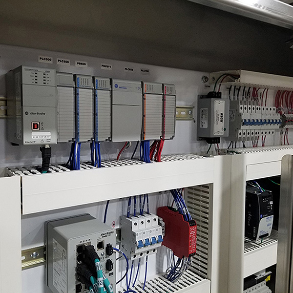 control system for cheese production shredding equipment