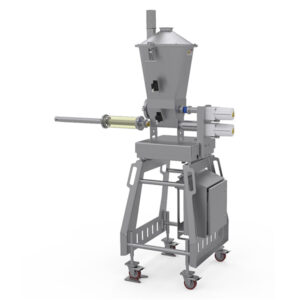 powder and liquid application equipment used in cheese manufacturing