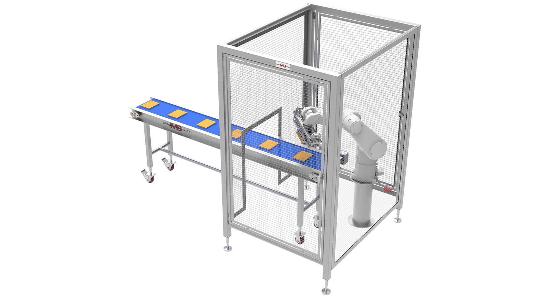 high speed automated cheese handling, cheese manufacturing equipment