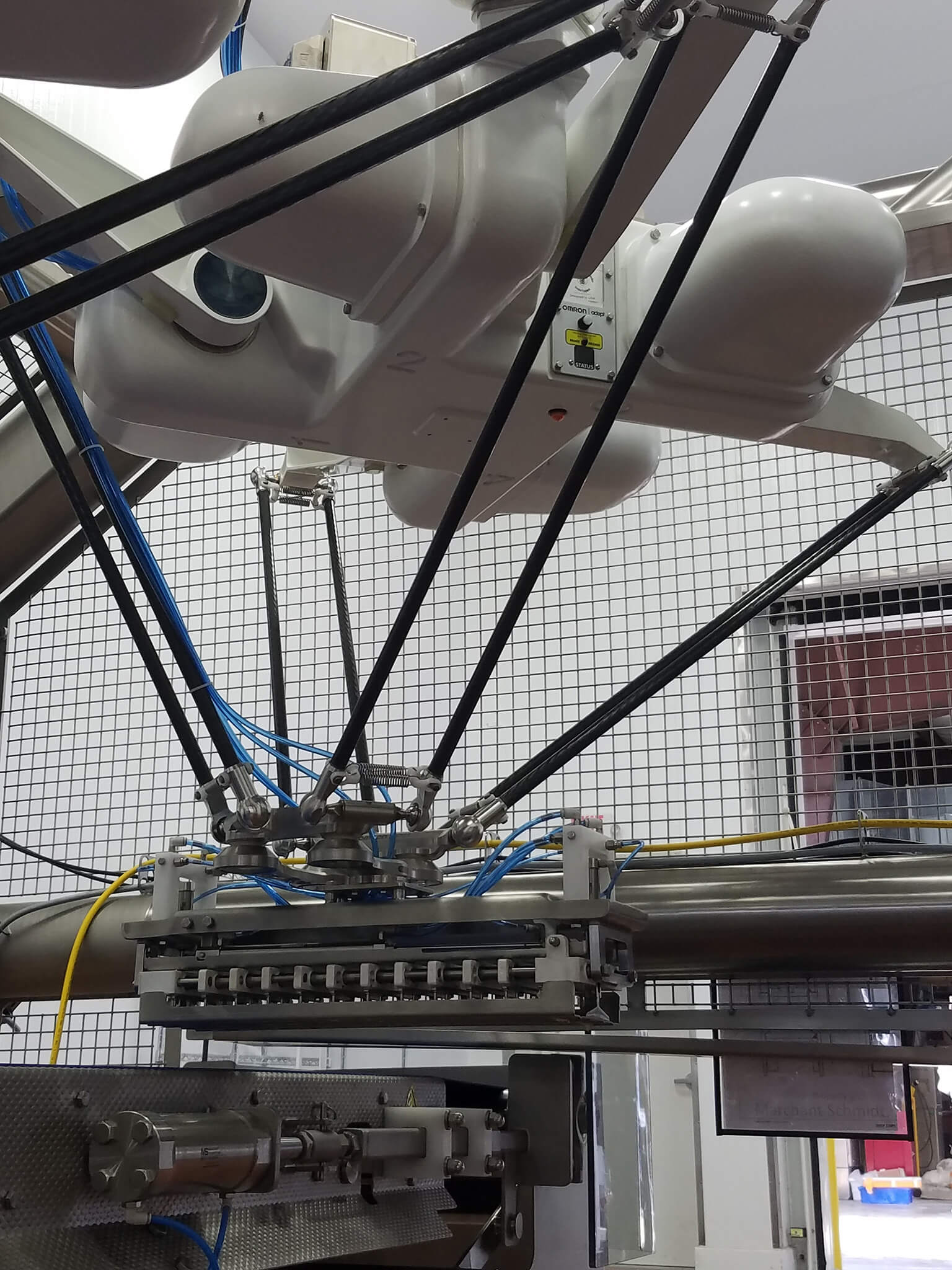 hygienic robotic food loading