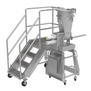 portable food manufacturing work platforms