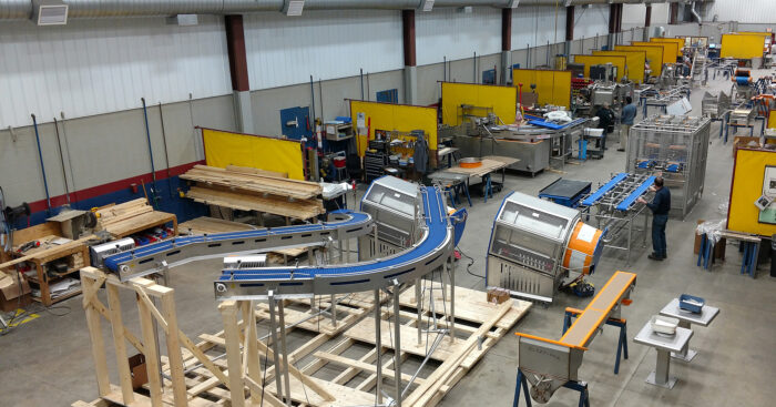 marchant schmidt manufacturing food processing equipment at their fond du lac wisconsin facility, food processing equipment manufacturers usa, food processing equipment manufacturers uk