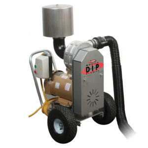 sonic dry-in-place® (d-i-p®) mobile blower